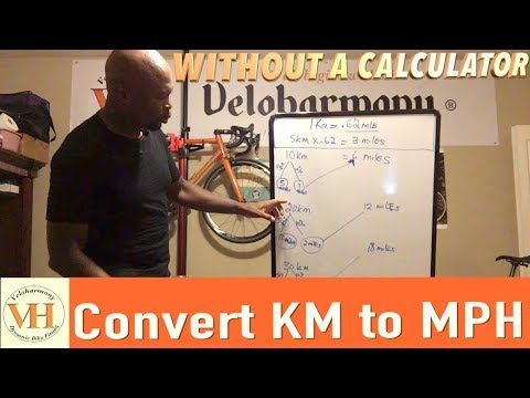 How to easily convert Kilometers to MPH