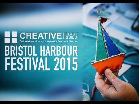 Creative Glass Guild at Bristol Harbour Festival 2015