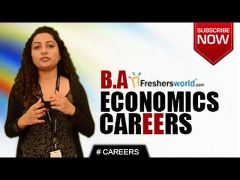 CAREERS IN BA ECONOMICS –  MA,P.hD,Teacher,Economist,Job Opportunities,Salary Package
