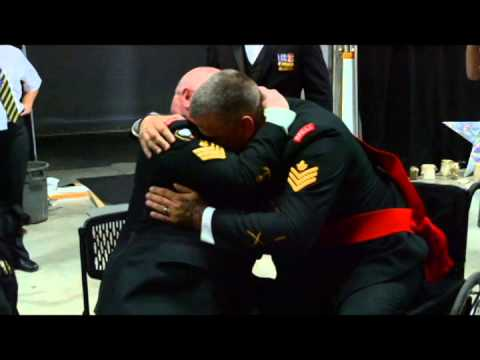 Canadian veteran surprised with service dog