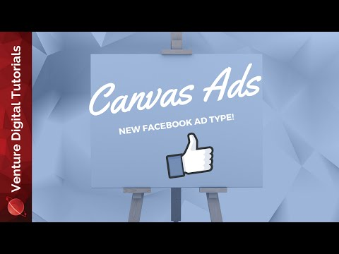Create Facebook Canvas Ads - How To