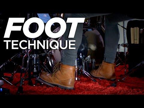Foot Technique | Fast Single Pedal | Kick Drum Lesson
