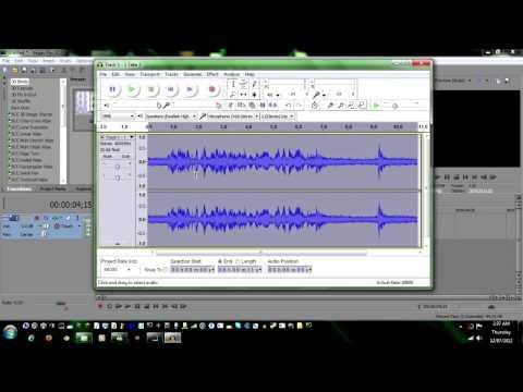 Sony Vegas Pro 10 Tutorial - How to remove Background Noises