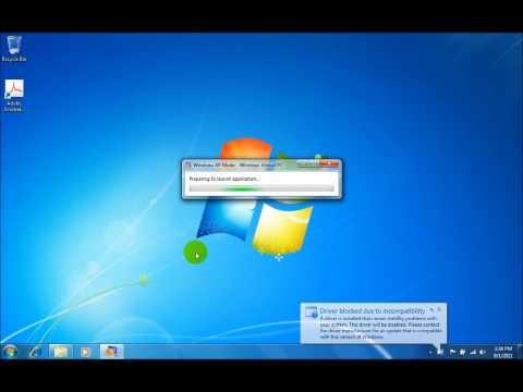 Windows XP Mode - Running IE 6 on Windows 7