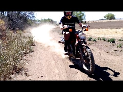 1986 Honda CT Trail 110 Extreme Riding - Motorcycle Trail Adventures Episode 6