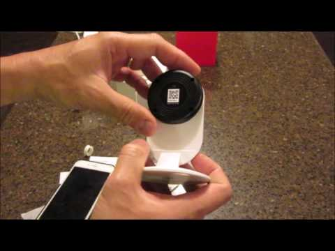 Yi Home Camera Wireless IP US Edition Review - unboxing, setup, settings, footage