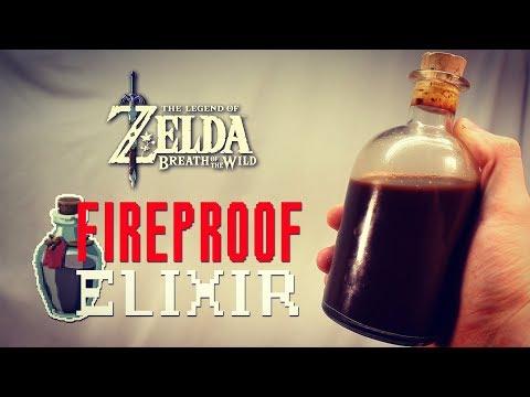 How to Make Fireproof Elixir from Zelda Breath of the Wild