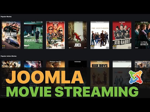 Create Your Own Netflix Website With Joomla [NO CODING]