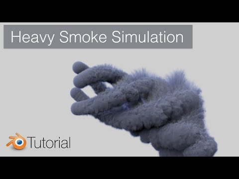 Heavy Smoke Simulation, Blender Tutorial (Cycles)