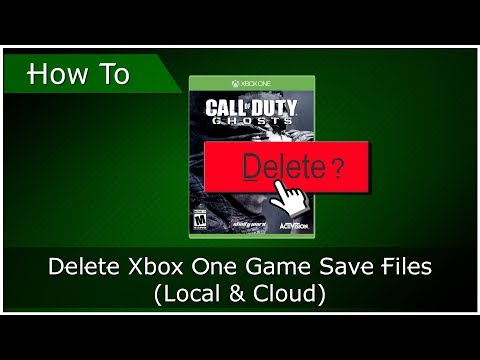 How To Delete Game Saves From Xbox One