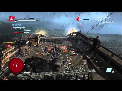 Assassin's Creed Rogue - Legendary Battle:The Storm Fortress(Tips and Tricks)