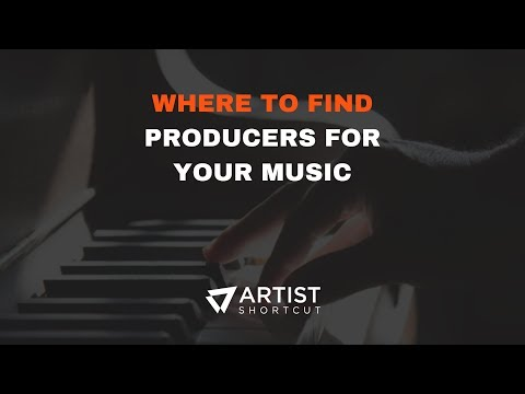 Where To Find Producers For Your Music