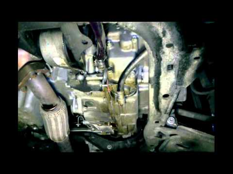 Saturn Astra Transmission Drain and Flush