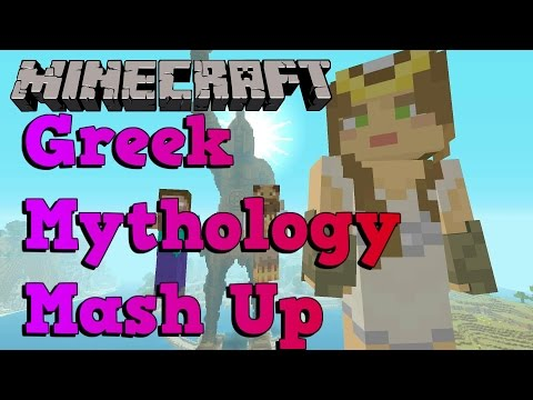 Minecraft Greek Mythology Mash-up pack Xbox One PS4 review overview guide