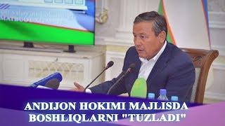 Download ANDIJON HOKIMI MAJLISDA BOSHLIQLARNI ″TUZLADI″ Video