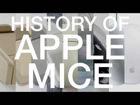 History of Apple Mice