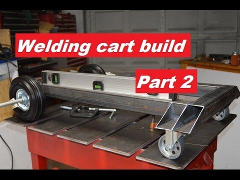 Welding cart build part 2