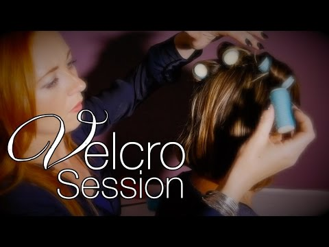 ASMR Hair Rollers Session | Brushing, Hair Play, Velcro Sounds, Trinaural