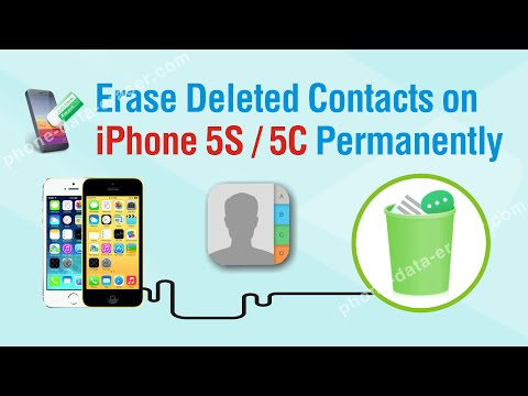 How to Erase Deleted Contacts on iPhone 5S / 5C Permanently