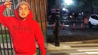 6ix9ine Goes To O-Block In Chicago And Goons Say He Ran