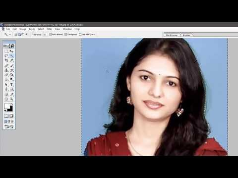 How to Make Passport Size Photo in Adobe Photoshop in Hindi | Tutorial