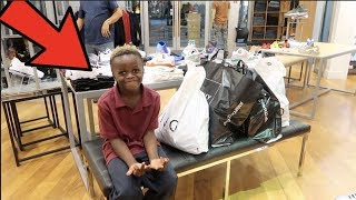 I SURPRISED WOO WOO WITH A $2000 SHOPPING SPREE