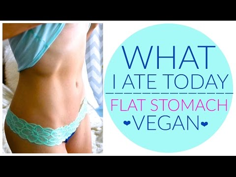 FLAT ABS DIET - WHAT I ATE TODAY (VEGAN) [Day 33]