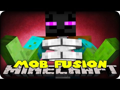 Minecraft Mods - MOB FUSIONS! ( CREATE YOUR OWN MOBS - Mod Showcase)