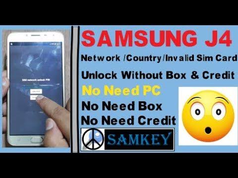 Sim network unlock pin for Samsung j415f using Ms code Free Download
