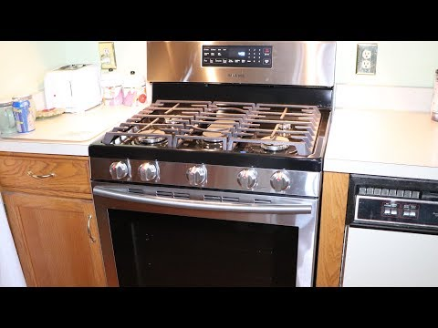 Kitchen Update Part 1 Replacement Stove