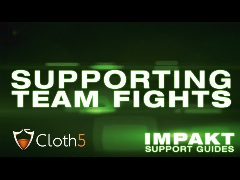Supporting in Team Fights - impaKt Support Guides