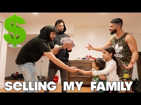 I PUT MY FAMILY FOR SALE PRANK!!