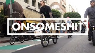 ADAM22 of ONSOMESHIT & THE COME UP BMX