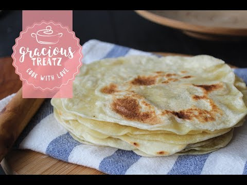 Tortilla Wraps | Homemade Flatbread Recipe