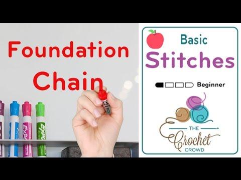 How To Crochet Foundation Single Crochet Stitch