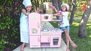 Download Kidkraft Kids Toy Kitchen - Unboxing,Review and Pretend Cooking Video