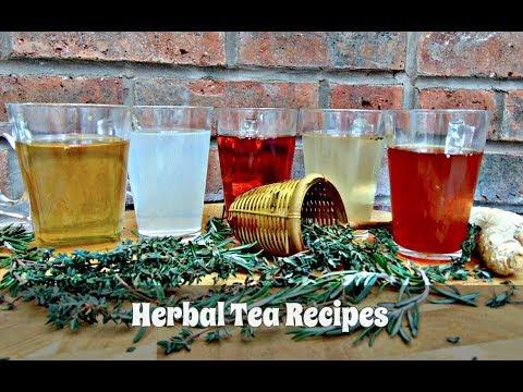 Homemade Herbal Tea Recipe Collection | Episode 97