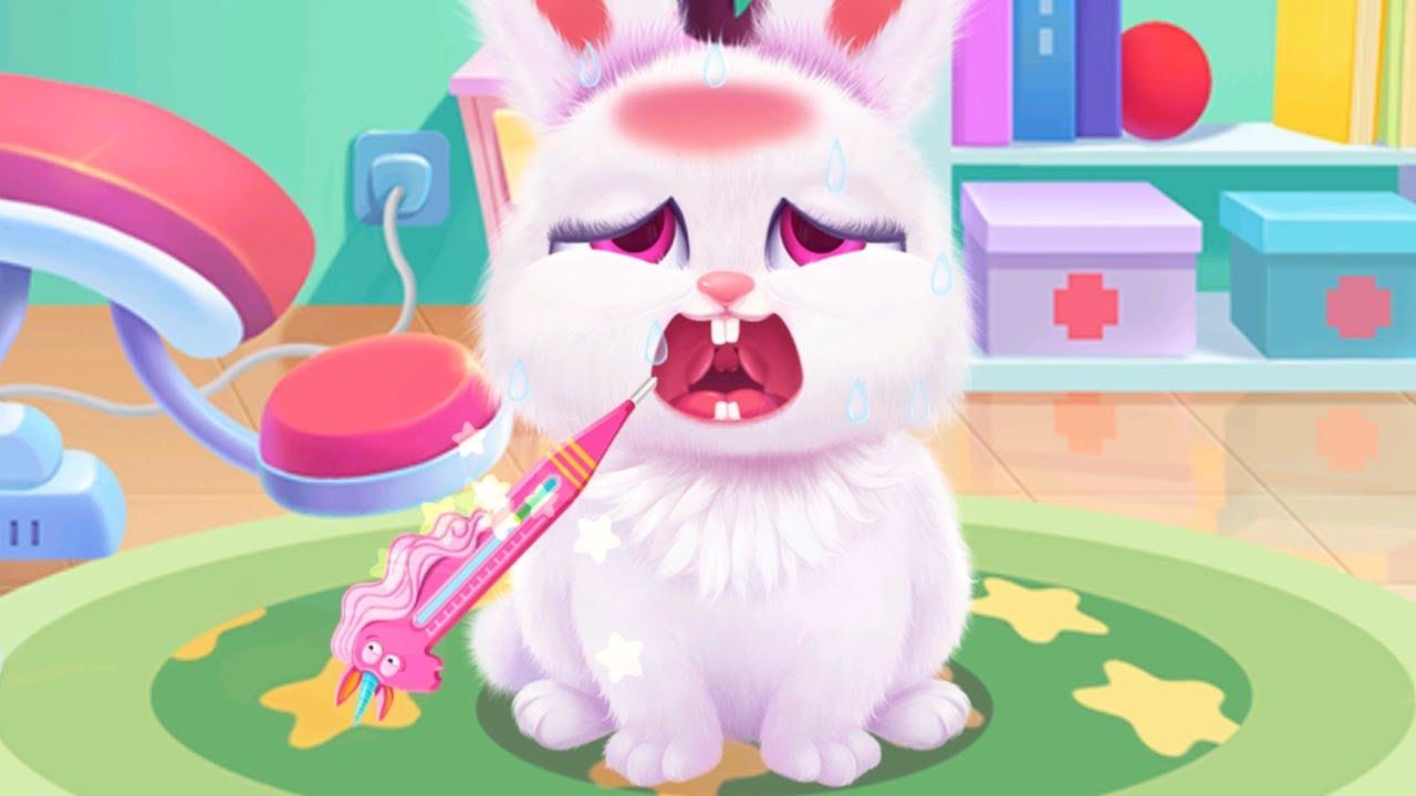 Play Fun Furry Animal Care In Libii Hospital - Little Panda Pet Care Fun Games For Kids