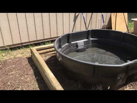 New 300 Gallon Aquaponics System - Part One
