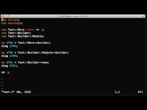 Test::Builder object