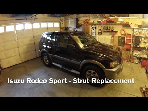 Isuzu Rodeo Sport ISC suspension replacement-Mechanics eye view
