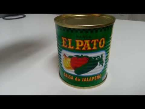 El Pato Jalapeno Salsa - Green Can - Calories, Ingredients and Nutrition Facts