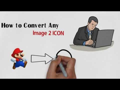 how to convert image to icon