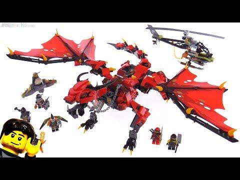 LEGO Ninjago Firstbourne (Fire Dragon) set review! 70653
