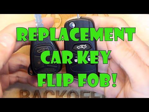 Teardown Lab - Replacement Car Key Flip Fob