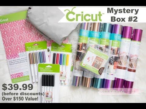 Cricut Mystery Box #2 - March 13, 2018
