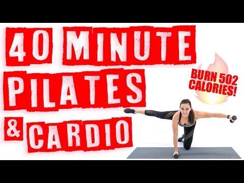 40 Minute Pilates and Cardio Workout 🔥Burn 502 Calories!* 🔥
