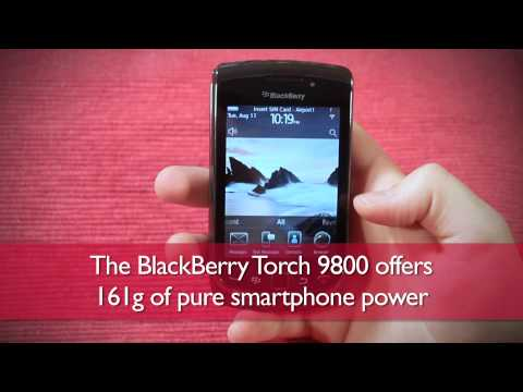 BlackBerry Torch 9800 UK hands-on review