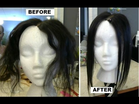 Nessa's Hair Extensions: How to Steam Iron Dry/Damaged Hair