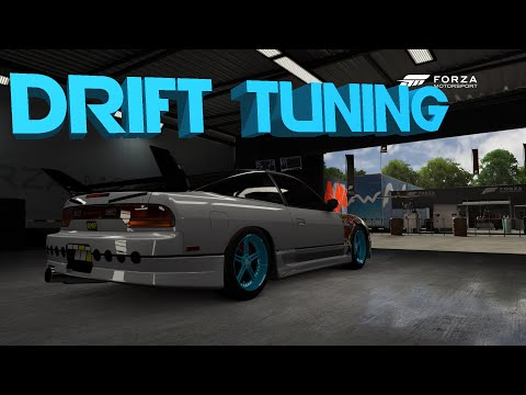 Forza Motorsport 6 | HOW TO BUILD/TUNE A DRIFT CAR | 240SX Build